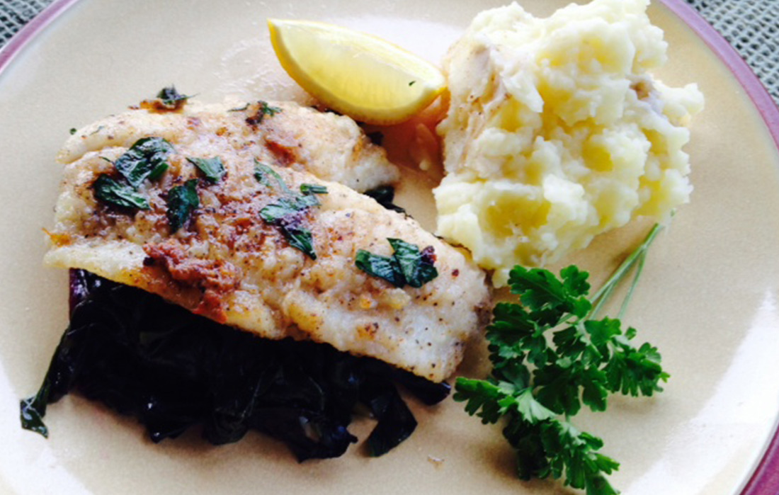 Kim's Flounder with Browned Butter and Lemon