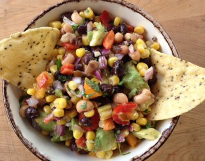 Cowboy Caviar:  A healthy dish for your next tailgate