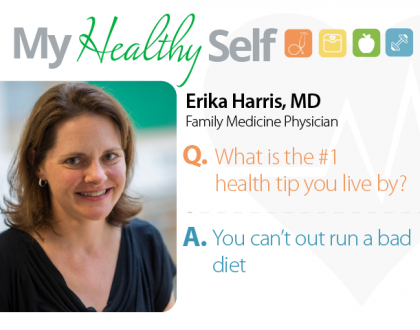 My Healthy Self: Erika Harris, MD