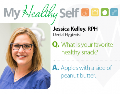 My Healthy Self: Jessica Kelley, RDH