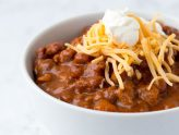 From Ashley's MacroEd Kitchen: Chili