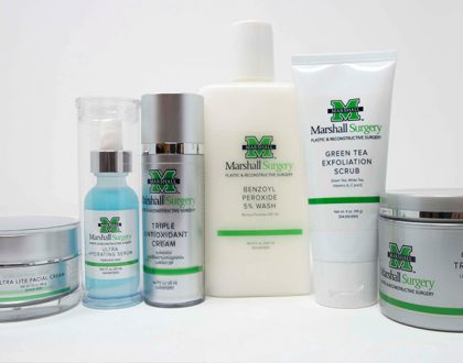 Exclusive new skincare line now available at Marshall Health