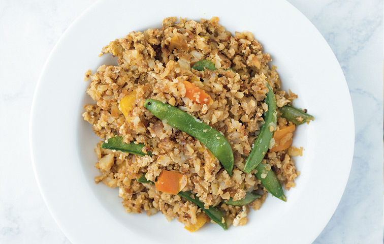 From Ashley's Macroed Kitchen: Cauli Fried Rice