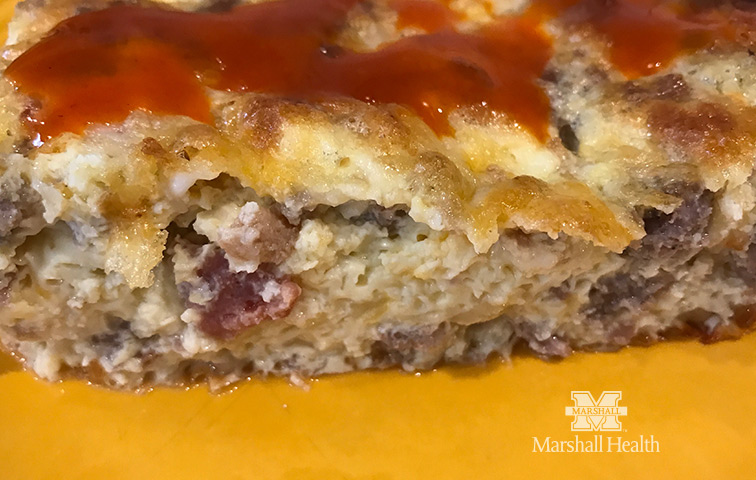 From Ashley's Macroed Kitchen: Key to the Kingdom Breakfast Casserole