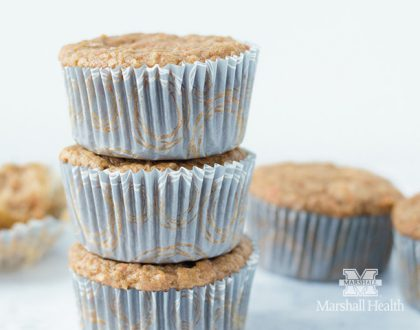 From Ashley's Macroed Kitchen: Morning Glory Muffins