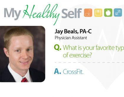 My Healthy Self: Jay Beals, PA-C