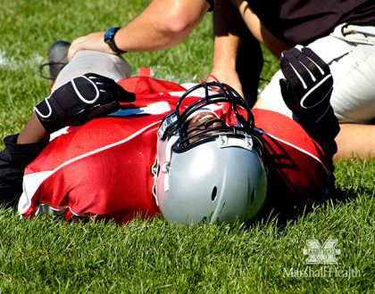 A Closer Look: Typical Friday Night Lights for an Athletic Trainer