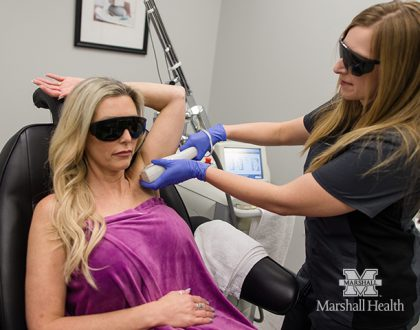 Reduce Unwanted Hair with Laser Treatments