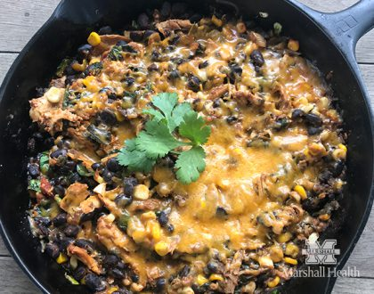 Chicken Taco Skillet Supper