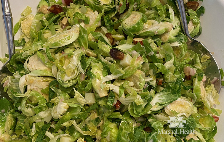 Shaved Brussels Sprouts Salad