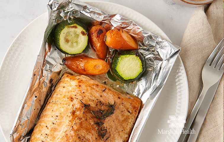 Personalize your plate with foil packet meals